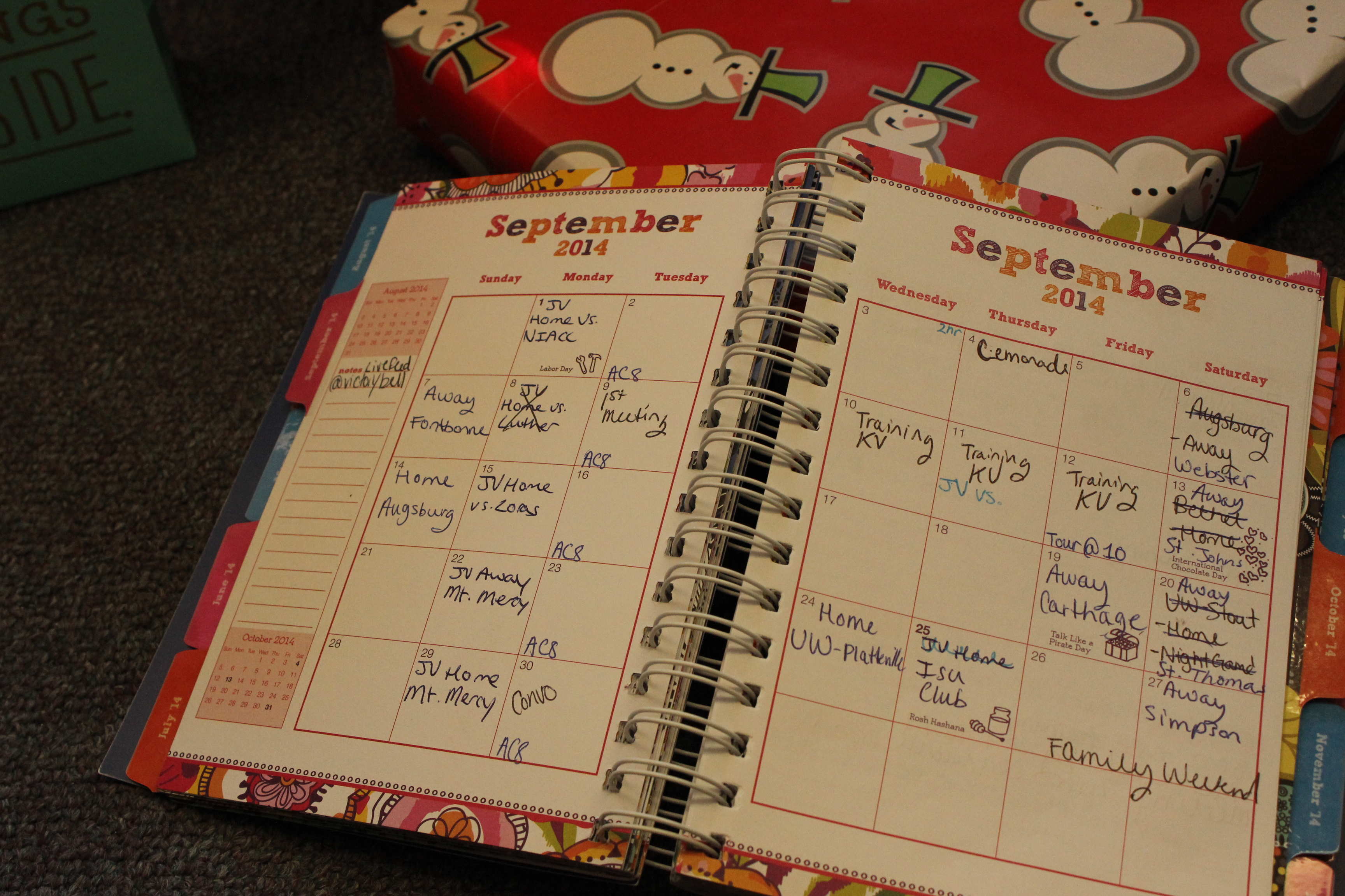 product review vera bradley student planner accepted with allix